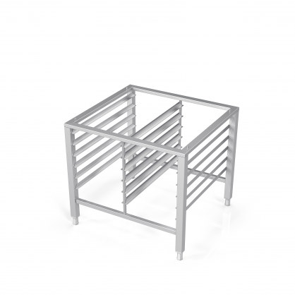 Stand for Convection Oven With Guide Rails for 12 GN-1/1 trays