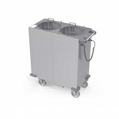 Heated Dispenser Trolley for Plates