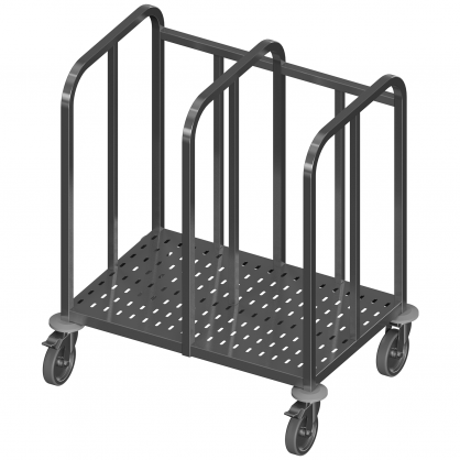 Double Trolley for Trays