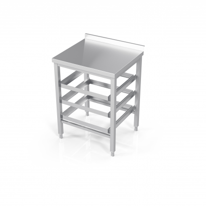 Table With Drawers for Dishwasher Baskets